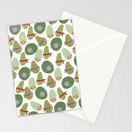 Ninja Avocados Stationery Cards