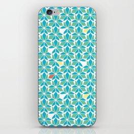 Blue Vitral iPhone Skin