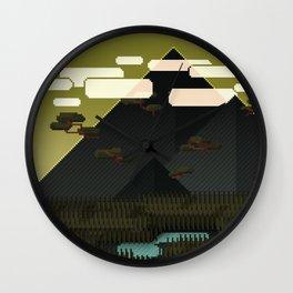 Monolithic Wall Clock
