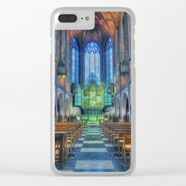 Faith Hope And Love Clear iPhone Case