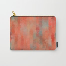 Coral Mirage Carry-All Pouch