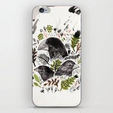 DARWIN FINCHES iPhone & iPod Skin