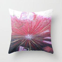 RED LIGHT by Elena Raimondi Throw Pillow