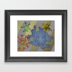 Wiki Leak Framed Art Print