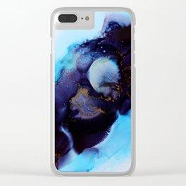Colour burst 3.0 Clear iPhone Case