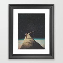 We Chose This Road My Dear Framed Art Print