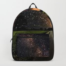 Funny how our eyes get drawn to the city Backpack