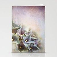 hydrangea Stationery Cards featuring HYDRANGEA by VIAINA