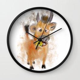 little bull Wall Clock