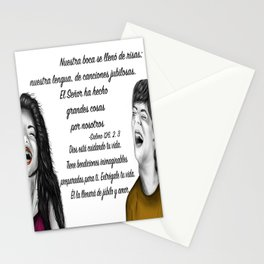 Risas - Salmo 126, 2. 3 Stationery Cards