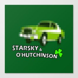 Starsky & O'Hutchinson Canvas Print
