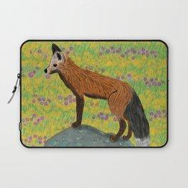 Fox at Dawn Laptop Sleeve