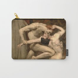 DANTE AND VIRGIL - WILLIAM-ADOLPHE BOUGUEREAU Carry-All Pouch