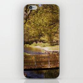Footbridge iPhone Skin