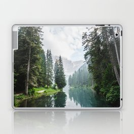Forest Reflection in Italy Laptop & iPad Skin