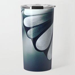blossoming mind in blue tone Travel Mug