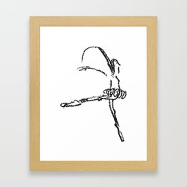 Bailarina Crayola Framed Art Print