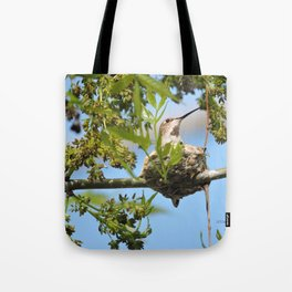 Hanging Out Over B Street Tote Bag