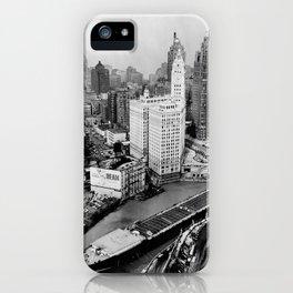Largest travel Chicago River Chicago Illinois iPhone Case