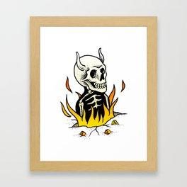 Burned 1 Framed Art Print