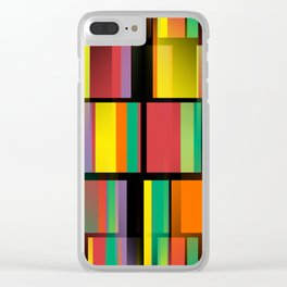 City Nights - Abstract Clear iPhone Case
