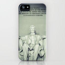 Abe iPhone Case
