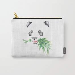 Panda Bear & Bamboo Carry-All Pouch
