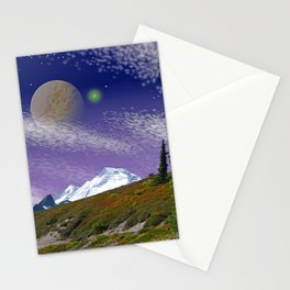 ON THE TRAIL TO DISTANT WORLDS Stationery Cards
