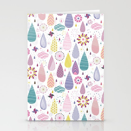 Magical Weather Stationery Cards