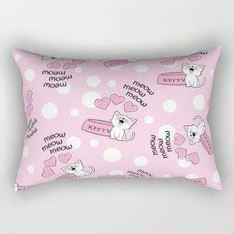Cat Lovers Dream Rectangular Pillow