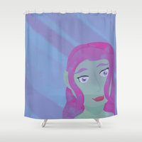 elf Shower Curtains featuring Elf by Gleje