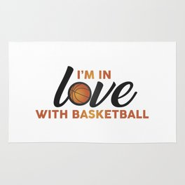I'm in LOVE with Basketball Rug