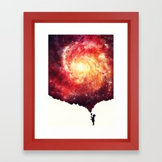The universe in a soap-bubble! Framed Art Print