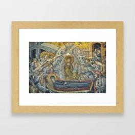 Dormition Of The Virgin Framed Art Print