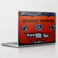 volkswagen Laptop & iPad Skins featuring funny volkswagen by gzm_guvenc