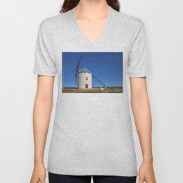 Spanish Windmill Unisex V-Neck