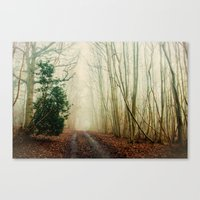ghost Canvas Prints featuring GHOST PATH by Catspaws