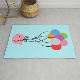 Pigs Can Fly Rug