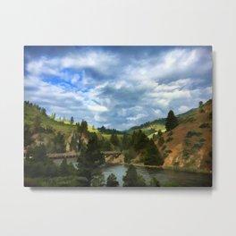 Boise River Middle Fork Landscape Metal Print