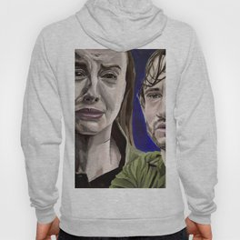 Abigail and Will, acrylic painting Hoody