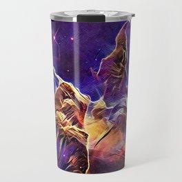 ALTERED Hubble Mystic Mountain- Carina Nebula Travel Mug