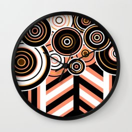 Complicated Forest Wall Clock