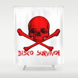 Disco Survivor Shower Curtain