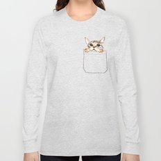Pocket cat Long Sleeve T-shirt
