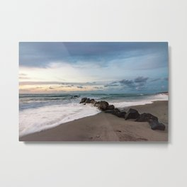 When the sun goes down and there's a triumph of colors... Metal Print