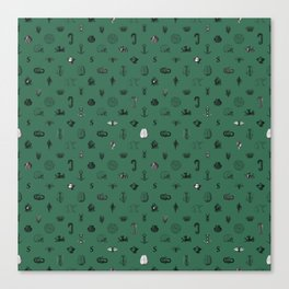 House of the Cunning - Pattern II Canvas Print