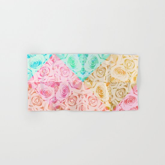 a rose is a rose Hand & Bath Towel