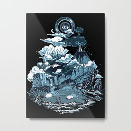 Terra Mikronic Metal Print