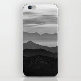 Mountains mist. BN iPhone Skin