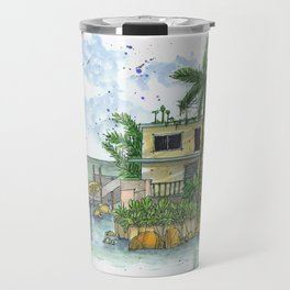 Beach Side Travel Mug